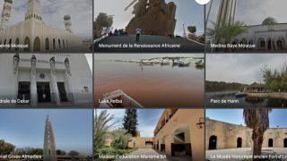 Quelques endroits du Sénégal sur Google Street-View